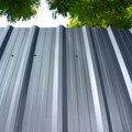 DIY Corrugated Metal Siding