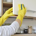 How to Clean Grease Build Up on Kitchen Cabinets