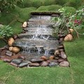 Directions for Installing a Pondless Waterfall Without Buying an Expensive Kit