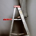 How to Use a Step Ladder on Stairs