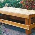 How to Build Wood Outdoor Benches