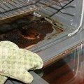 How to Clean Burned Food from an Oven