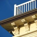 How to Clean Mildew Off of Gutters