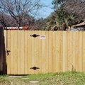 How to Build a Gate From Treated Wood Panels