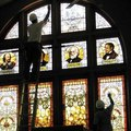 How to Remove Stained Glass Paint From Windows