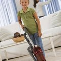 How to Remove a Vacuum Burn From Carpet