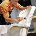 How to Re-cover Wicker Chair Cushions without Sewing