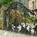 How to Build Your Own Black Iron Gate