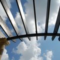 Options for Transparent Pergola Roofs