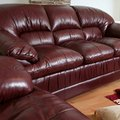 What Is a Good Color Scheme for a Living Room With Burgundy Leather Sofa & Chairs?