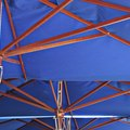 How to Paint Patio Umbrellas