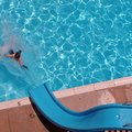 How to Paint Fiberglass Pool Slides