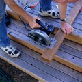 How to Install Composite Decking Over Wood
