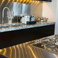 How to Caulk a Stainless Steel Kitchen Sink With Granite Countertops