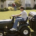 How to Make a Homemade Bagger for Your Yard Tractor