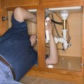 How to change an Elbow Drain Pipe under a Sink