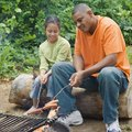 How to Convert a Gas Grill to a Fire Pit