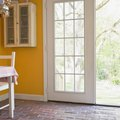 How to Hang Curtains on French Doors Without Drilling Holes in Doors