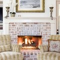 Color Ideas for Painting a Brick Fireplace