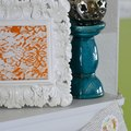How to Use Lace as a Paint Stencil