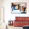 How to Create Focal Points With Art and Textiles