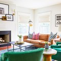 A Colorful Living Room Should Be Your Summer Decorating Goal