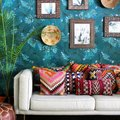 We're Pretty Sure This Boho Living Room Will Instantly Boost Your Mood