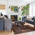 Layer Artwork on Your Mantel for an Unexpectedly Cool Display
