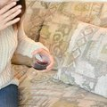 How to Remove a Red Wine Stain on a Couch