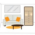 How to Arrange Furniture in Small Living & Dining Rooms