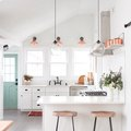 Copper Details Give a Timeless White Kitchen the Modern Edge It Needs