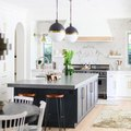 High Contrasts Create a Stunning Kitchen Design