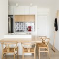 Here's a 645 Square Foot Apartment You Could Actually Have a Party In