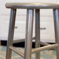 How to Refinish Furniture with Metallic Silver Paint