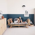 Honestly, a Rattan Daybed Is Exactly What Your Kid's Room Needs