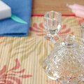 How to Remove Candle Wax From Crystal Candleholders