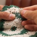 How to Get Wax Off a Crocheted Doily