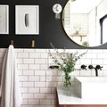 Let This Black-and-White Bathroom Help You Nail Two Coveted Trends