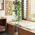 A Natural Bathroom Design May Make You Rethink the Bright Tile Trend