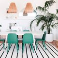 This Gorgeous Dining Room Features One of Next Year's Biggest Trends