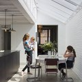 A Classic London Victorian Home's Kitchen Is a Showcase of Modern Industrial Design