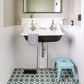 Elevate a Small Bathroom With Statement Tile