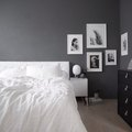 This Stunning Shade of Gray Elevates a Dreamy, Minimal Bedroom