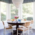 This Breakfast Nook Totally Nails Homespun Glamour