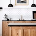 Black, White, and Wood Are a Killer Kitchen Combination