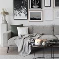 Gray Monochrome Makes a Cozy Living Room
