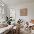 This Living Space Has the Perfect Breezy Palette for Summer