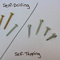 The Differences Between Self-Tapping and Self-Drilling Screws