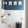 13 Clever Ways to Decorate Your Bathroom Walls