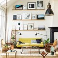 Put a Yellow Couch on Your Wishlist After You See This Living Room